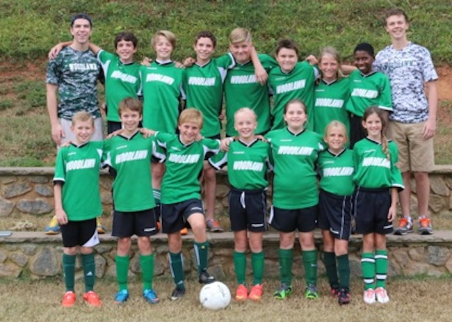 Middle School Co-Ed Soccer