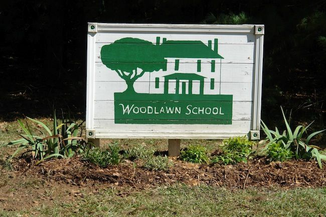 Original Campus Sign
